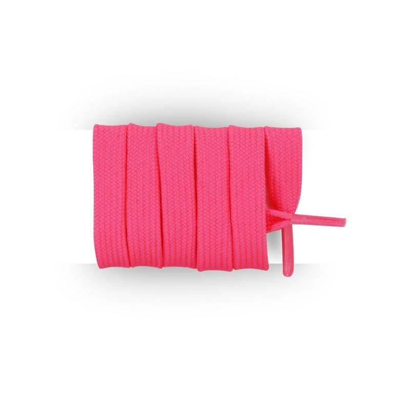 achat lacets foot et rugby rose fluo 110 cm. Black Bedroom Furniture Sets. Home Design Ideas