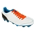Lacets chaussures football </br> Lacets plats polyester </br> Lacets longueur 130 cm </br> Lacets football couleur orange fluo