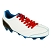 Lacets chaussures football plats polyester longueur 130 cm Lacets football rouge passion