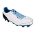 Lacets chaussures football plats polyester longueur 110 cm Lacets crampons football couleur bleu clair