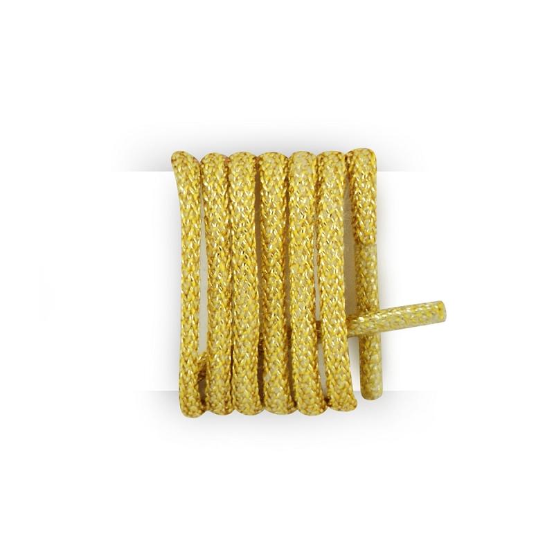 Lacets Ronds Coton Cir/é Couleur Jaune Bouton D Or Les lacets Fran/çais