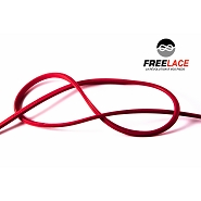 Lacets silicone running et trail 110 cm rouge